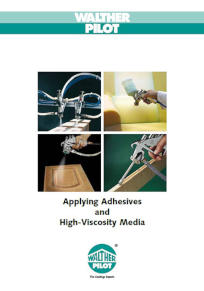 Adhesive Handling Solutions User Manual PDF Download
