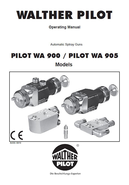 PILOT WA 923-ND-K User Manual PDF Download