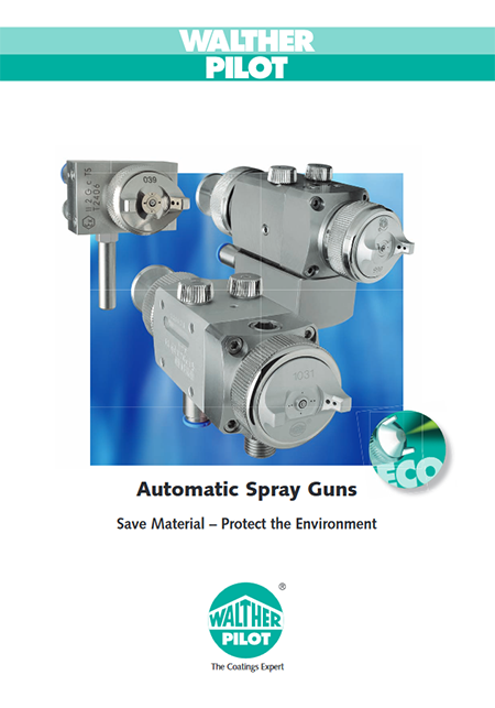 UK Automatic spray guns