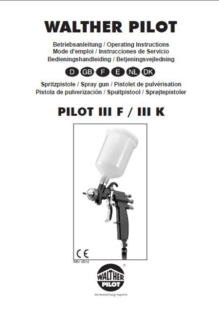 PILOT III F PDF DOwnload User Manual