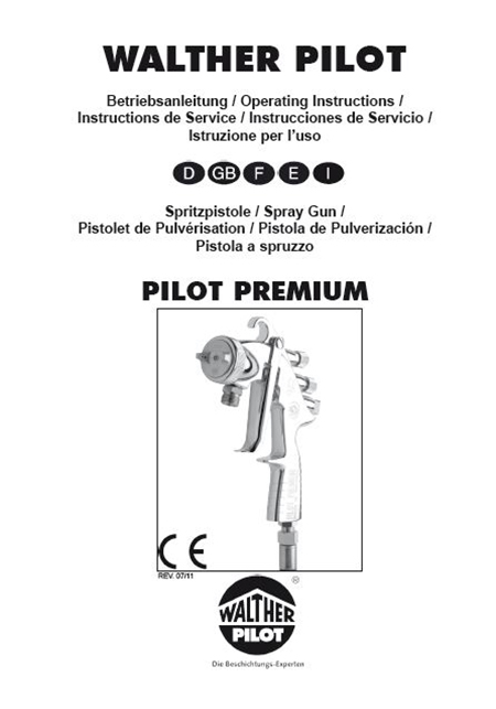 PILOT Premium-ND-K user Manual PDF Download