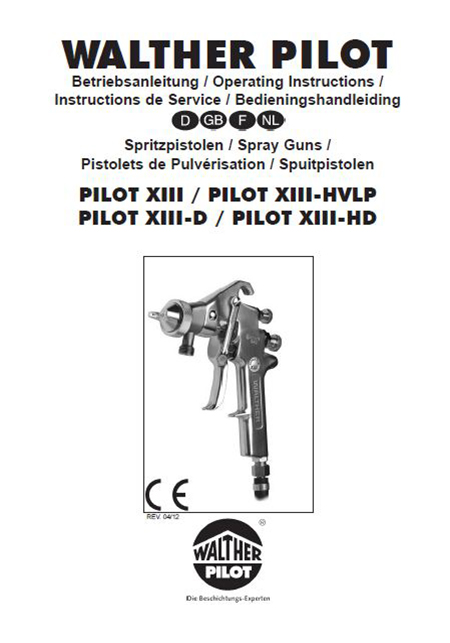PILOT XIII-ND-K User Manual PDF Download